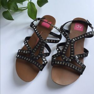 DV by Dolce Vita Shoes - Subtle gladiator sandals with silver accents
