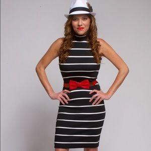 Dresses & Skirts - Mock-neck Stretch Dress