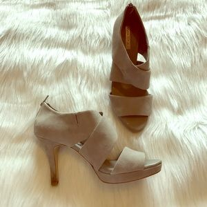 Banana Republic Shoes - Banana Republic Grey Heels