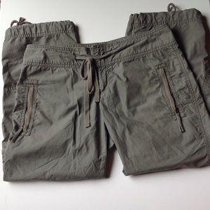 Calvin Klein Pants - Army Green Calvin Klein Capri's