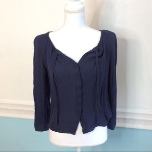 Joie Tops - Joie 100% Silk Long Sleeve Shirt