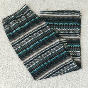 new directions Pants - Printed plus size plazzo pants