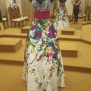 Night Moves Dresses & Skirts - Night Moves prom dress!