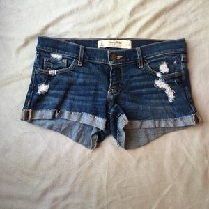 Abercrombie & Fitch Pants - SALE Abercrombie and Fitch rolled jean shorts