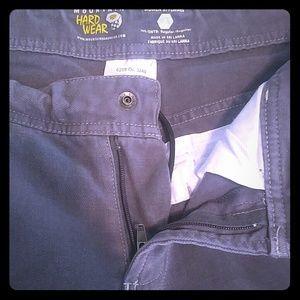Mountain Hard Wear Denim - Grey Mountain Hard Wear Pants