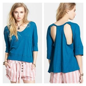 Free People cut out tee