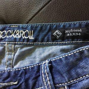 Rock & Roll Cowgirl Denim - ROCK&ROLL   Boyfriend 31x34