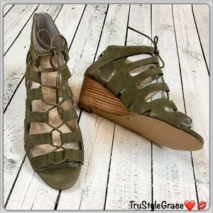 Sole Society Shoes - 💝Host Pick💝 New-Sole Society Lace-Up Gladiators