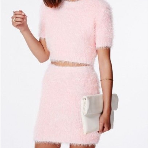 c0d447374c48b Fuzzy pink 2 piece set