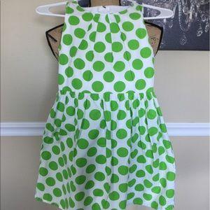 Xtraordinary Other - Girls White/Green Dress
