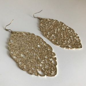 Stunning Filigree Statement Earrings