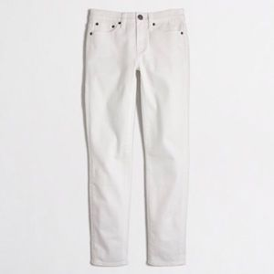 Factory white cropped ankle jean jeans pants