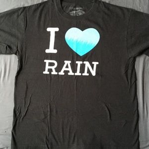 Casual Industrees Shirts - 🌧☔️ i love rain short sleeve shirt
