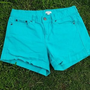 J. Crew Pants - J. Crew stretch denim shorts