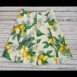 Talbots Dresses & Skirts - Talbots | Adorable Lemon Print Midi Skirt