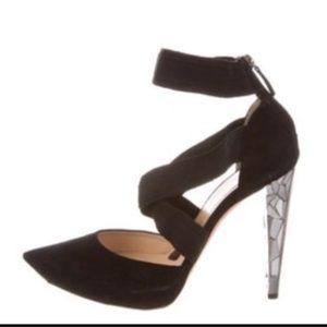 Alessandro Dell'Acqua Shoes - ALESSANDRO DELL'ACQUA Criss Cross Heels Sz 40