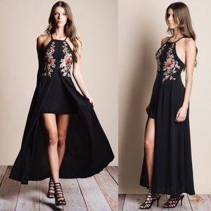 Bare Anthology Dresses & Skirts - xx Embroidered Mini Maxi Dress