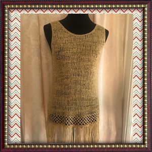 """Fringe With Benefits"" NWT TOP"