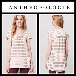 Anthropologie Tops - Anthropologie Striped Marin Tunic