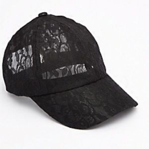 Lace Baseball Hat