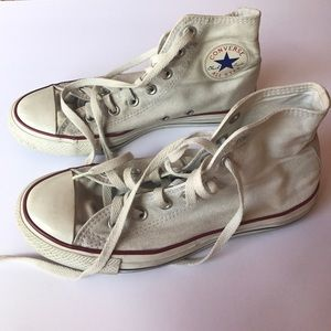 Converse Shoes - Accepting offers! White high top converse