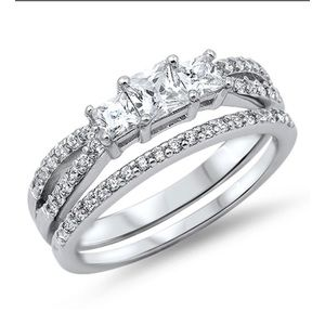 Jewelry - Sterling silver 925 wedding sets
