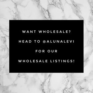 WHOLESALE AVAILABLE!