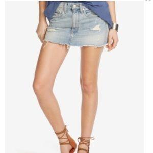 Denim & Supply Ralph Lauren Dresses & Skirts - Denim & Supply Ralph Lauren Distressed Denim Mini