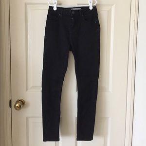Topshop PETITE Denim - Topshop petite black jeans