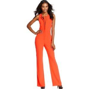 Rachel Roy Pants - Rachel Roy Orange Jumpsuit