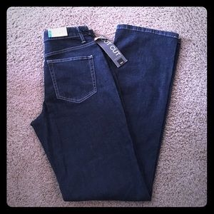 NWT Mossimo Boot Cut Jeans Sz 4 Long