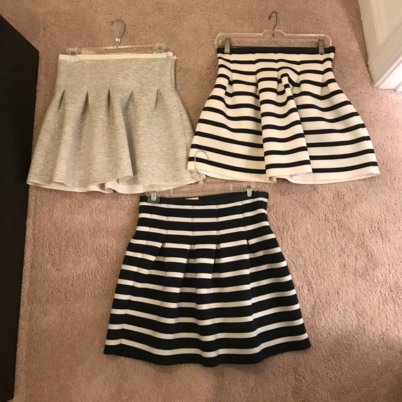Grey Bubble Skirt 4