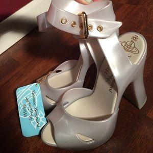 Vivienne Westwood Shoes - Vivienne Westwood x Melissa Slave Platform Sandal