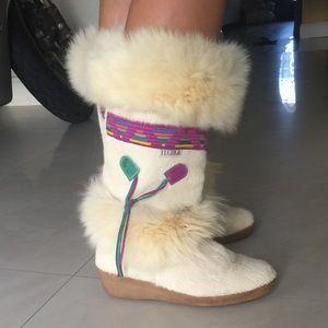 Tecnica Shoes - A beautiful brand new Italian TECNICA fur boots