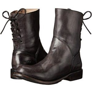 Bed Stu Shoes - Bed Stu Cheshire black leather boots