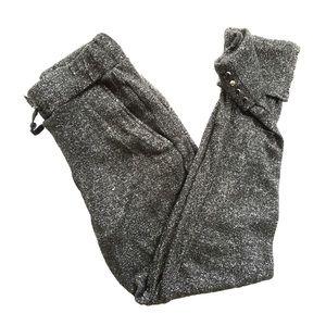 Zara • Black Sparkle Joggers