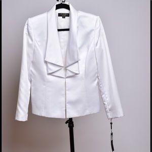 Tahari Jackets & Blazers - NWT Tahari White Tuxedo Jacket