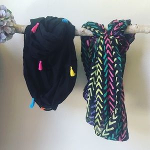 Accessories - Set of 2 Scarves NWT