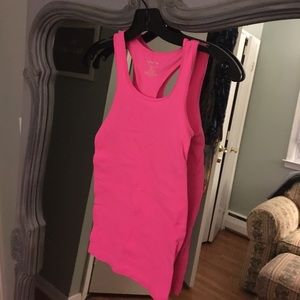 Poof! Tops - Hot Pink stretch tank