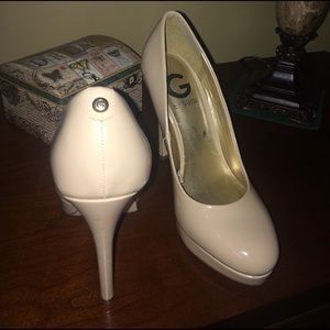 G by Guess Shoes - Nudes! Beautiful Nude Guess heels