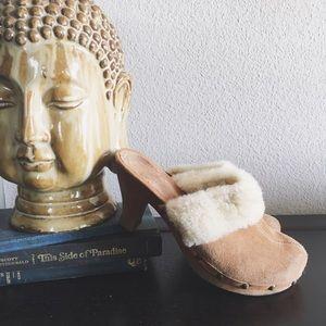 Gianni Bini Shoes - Gianni Bini Leather Mule Clog