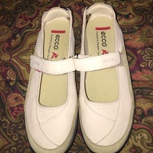 Ecco Shoes - Mary Jane Style Ecco Sneakers Size 8