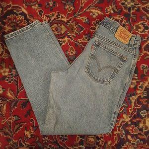 Levi's Denim - Vintage 90s Levi's High Waisted Jeans