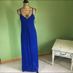 Calvin Klein Dresses & Skirts - Chevron Textured Maxi Dress