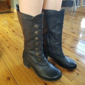 Miz Mooz Shoes - Black Calf Boot