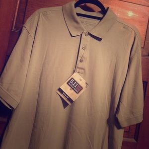 5.11 Tactical Other - NWT 5.11 Tactical Silver Tan Polo Large
