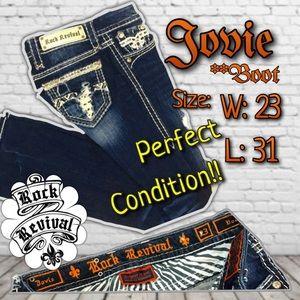 Rock Revival Denim - ⚜️Rock Revival Jovie Boot~LIKE NEW!!!