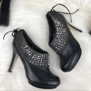 Zigi Soho Shoes - Zigi soho black studded heel MASTER booties