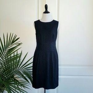 Banana Republic Black Sleeveless Sheath Dress