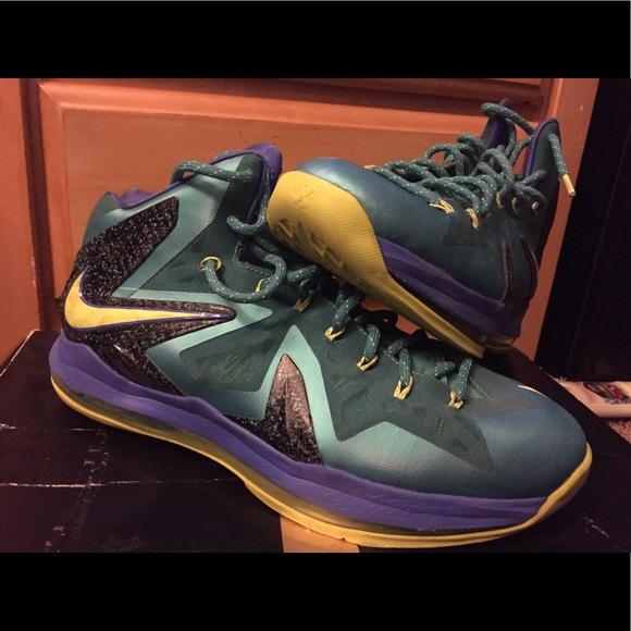 39fe30c7ce4 Nike LeBron 10 elite sprite edition. M 5901486c291a355442001b55